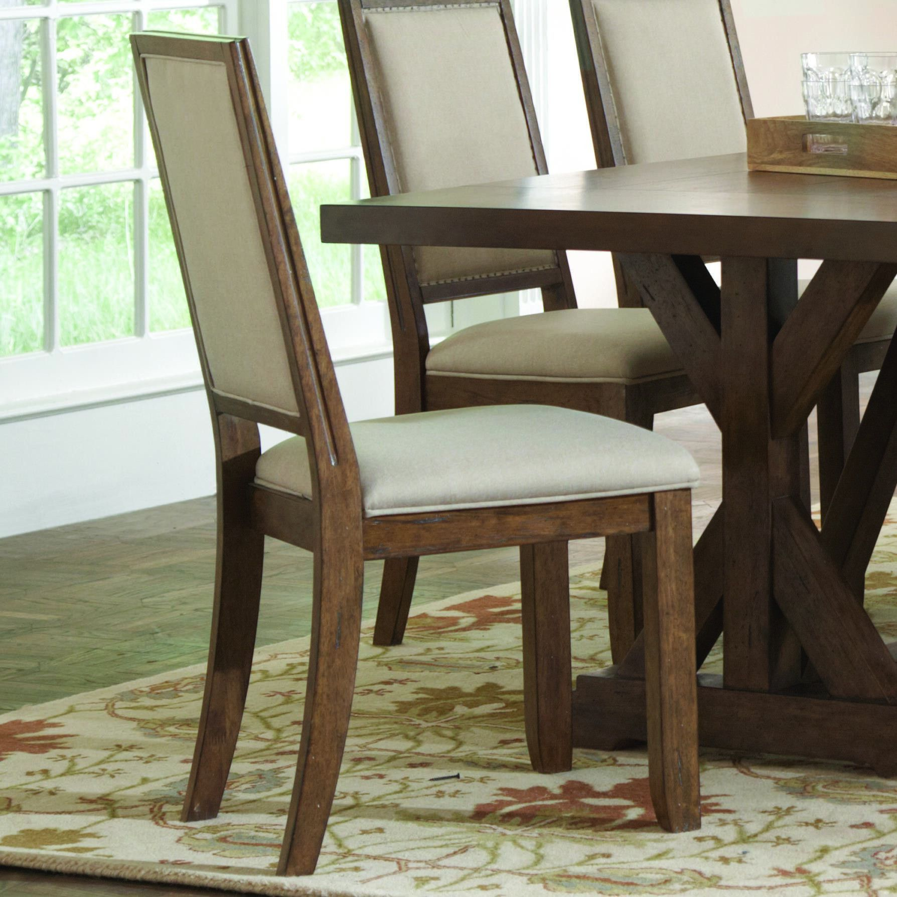 Bridgeport set of rustic dining chair products pinterest