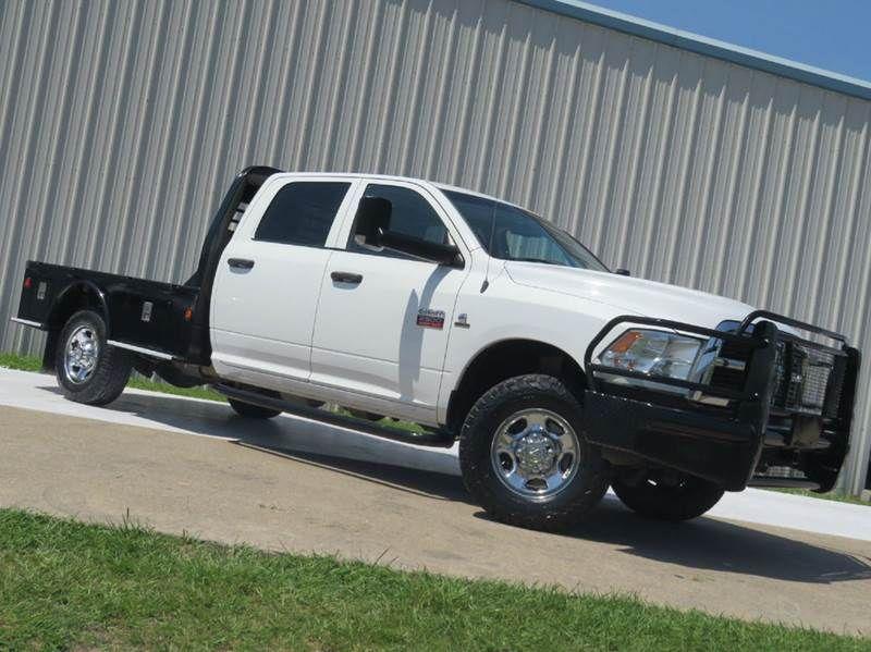 2012 Dodge Ram Pickup 2500 Tradesman 6 7l Cummins Turbo Diesel 4x4 6spd Auto Flat Bed 1 Owner Texas Cummins Turbo Diesel Cummins Diesel Trucks Dodge Ram Pickup