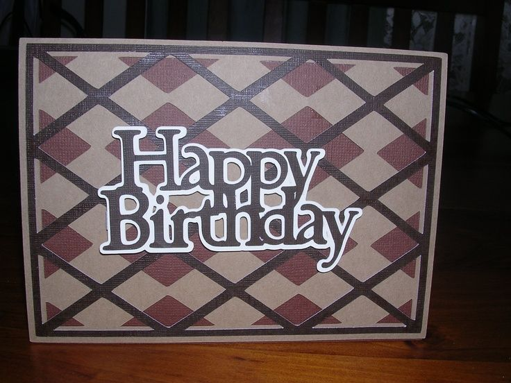 Masculine Birthday Cards Made With Cricut ~ Cricut birthday cards for kids handmade star birthday card