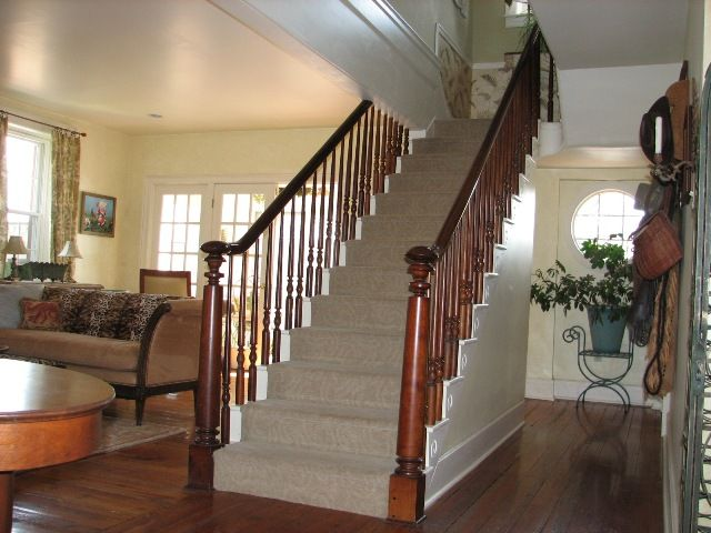 Best Center Hall Colonial Stairs Opened Up Center Hall 400 x 300