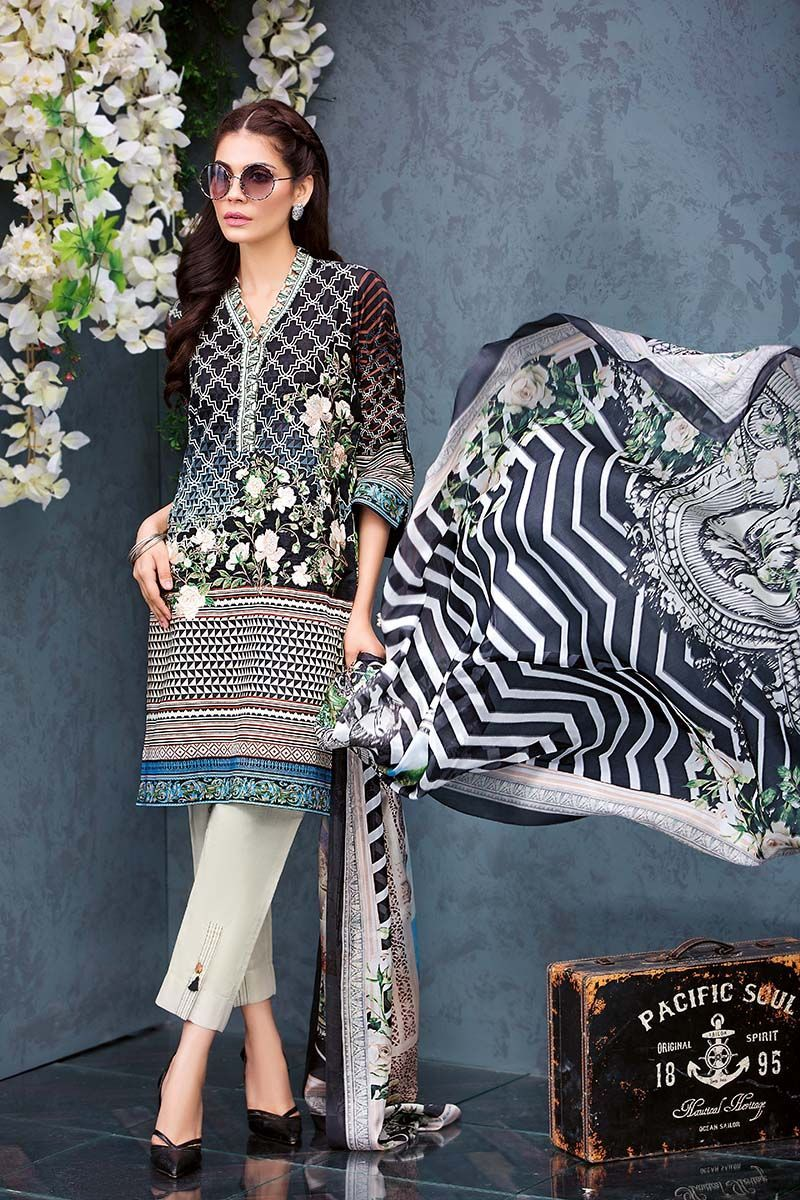 045c2e844b Gul Ahmed Summer Embroidered Lawn Dresses Collection 2019 | Wardrobe ...