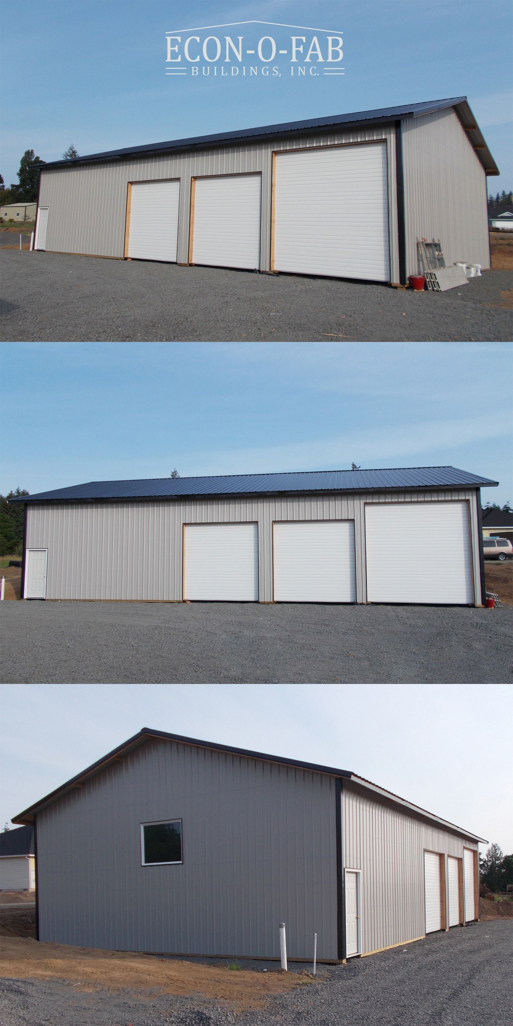 36 X 60 X 14 Residential Pole Building Metal Building Homes Pole Buildings Metal Shop Building