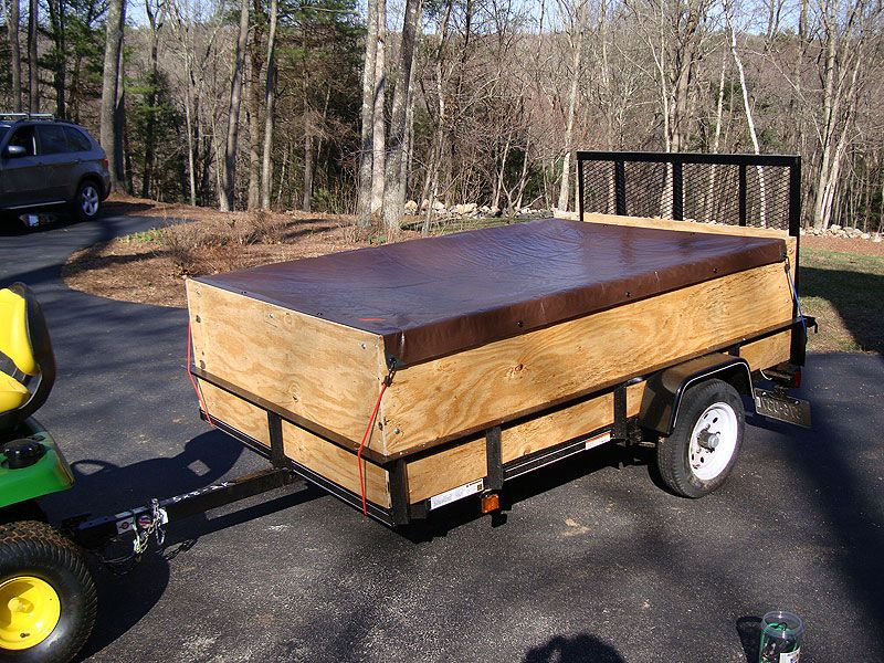 Tarp covering utility trailer homestead pinterest utility tarp covering utility trailer solutioingenieria Gallery