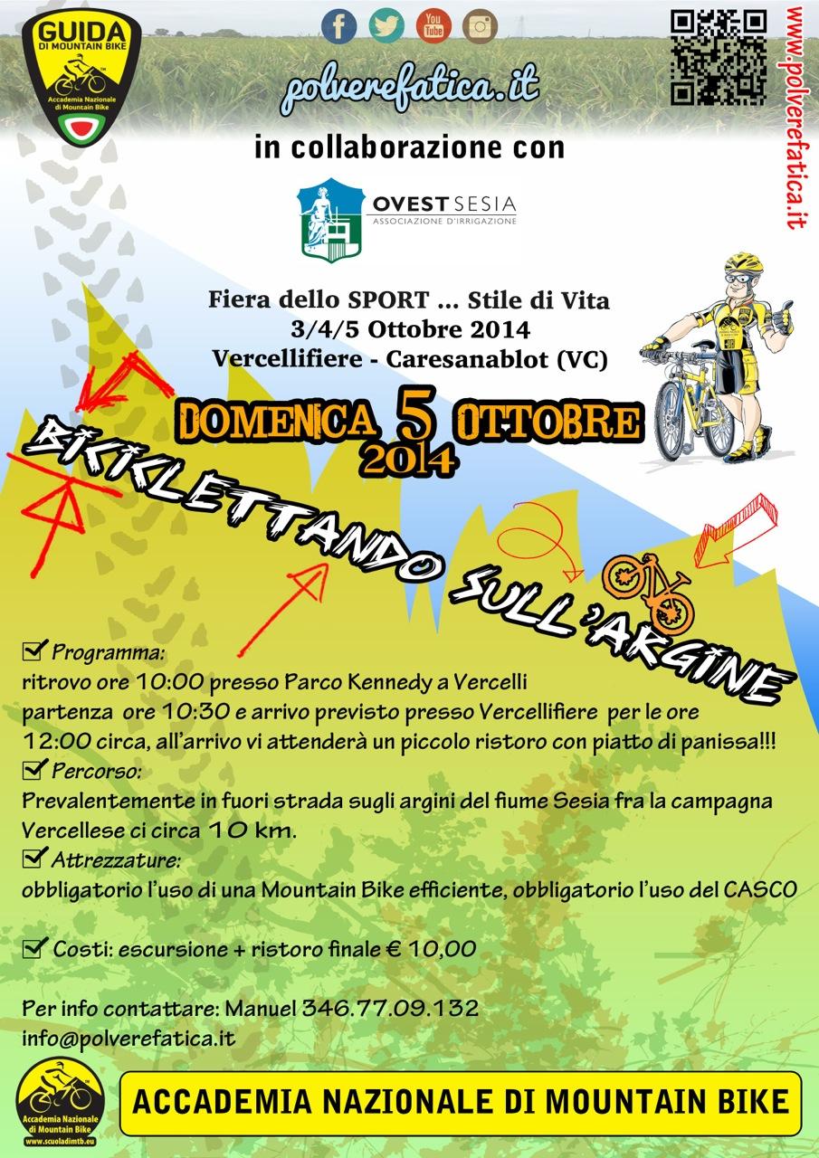 Fiera dello Sport centro fiere Vercelli dal 3 al 5 Ottobre al centro fiere di Caresanablot