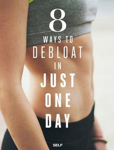 8 ways to combat bloating