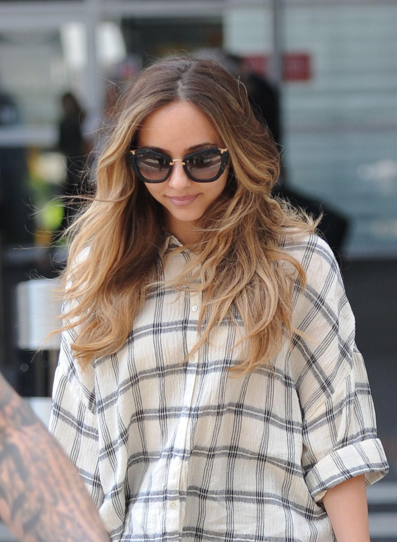Jade Thirlwall arriving at Heathrow Airport - September 6, 2015