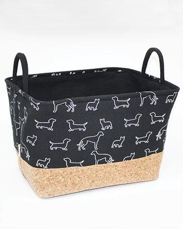 """Stylish Storage """"black doggies"""" goodie box by BeOneBreed I"""
