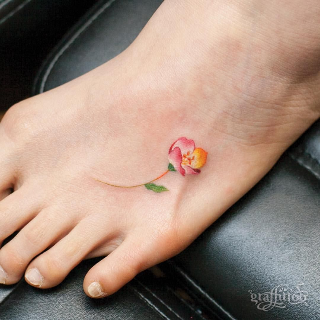 Small Ladylike Dainty Lovely But Not On My Foot Tattoos