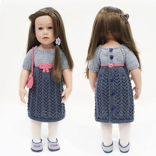 DK Ravelry: cataddict\'s Ready for the party! FREEBIE dress pattern ...