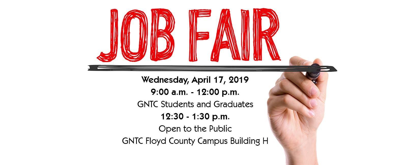 GNTC Job Fair Job fair, Education college, Floyd county
