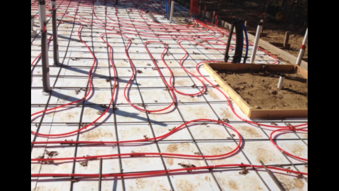 Pex in floor heat Radiant floor heating, Heated floors