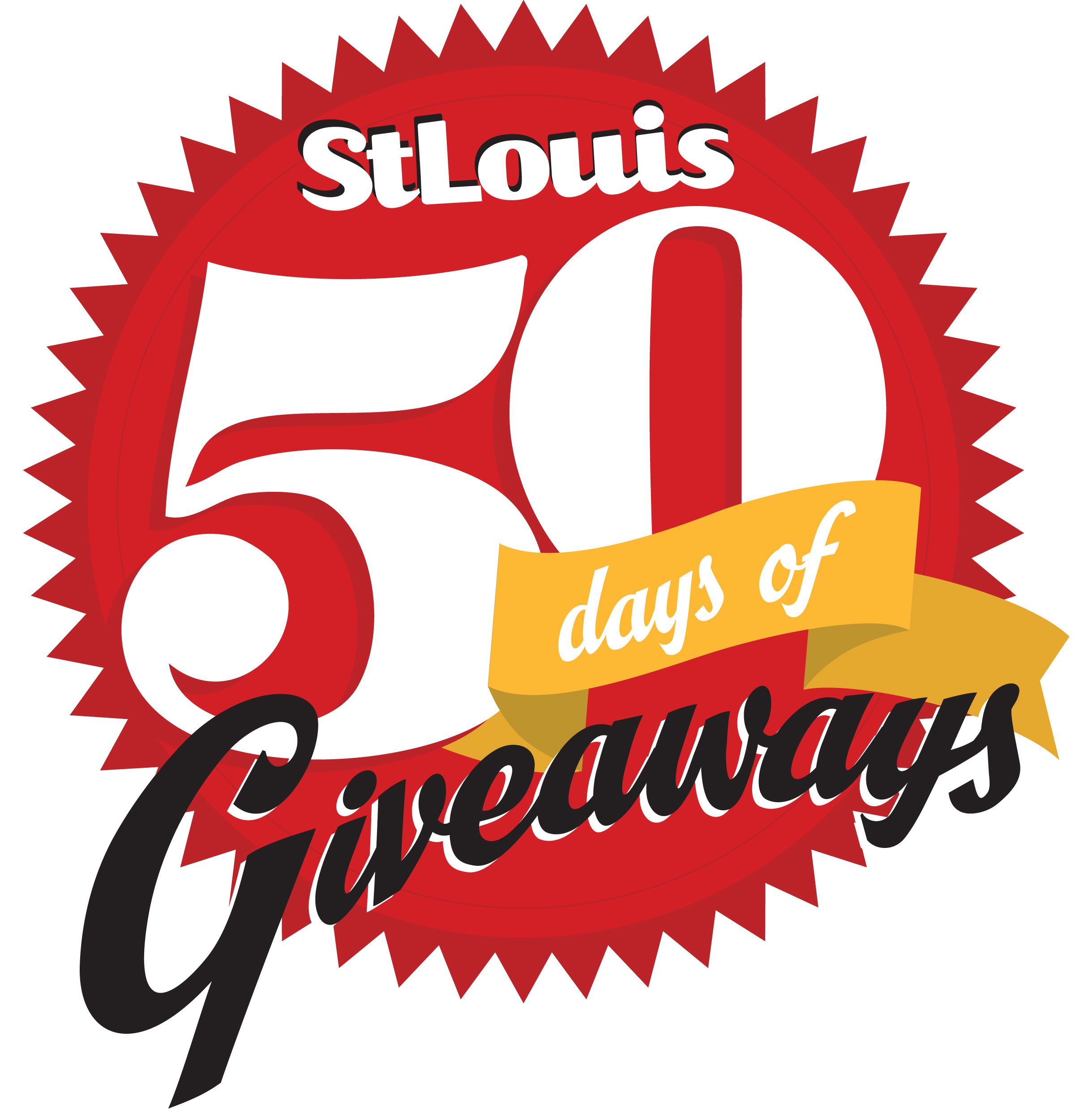In honor of 50 years of publishing St. Louis Magazine, we are giving our readers a chance to win 50 fabulous prizes for 50 straight days.  Every day features a new prize and a brand new chance to win. Plus, each daily winner will be entered for a chance to win the $25,000 grand prize: a 3-year automobile lease from Frank Leta Automotive Group. Mark your calendar—enter once a day, every day.