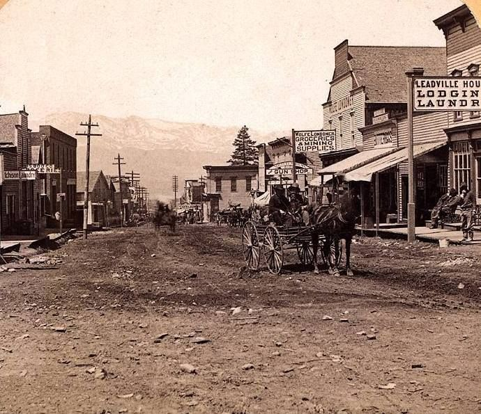 Image result for images of leadville colorado 1881