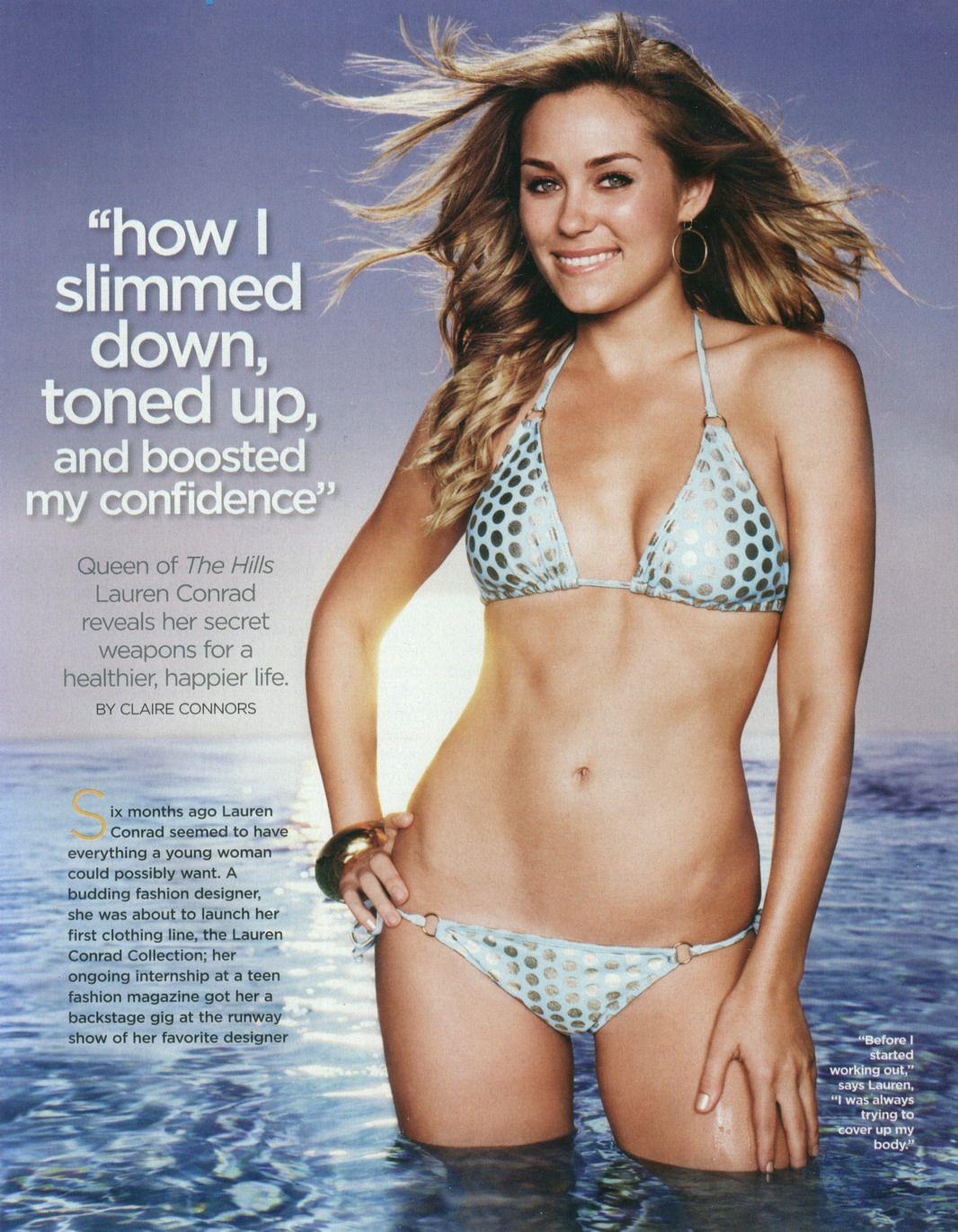 Lauren the hills bikini interesting