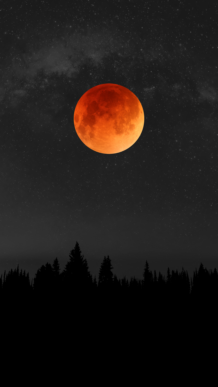 red moon wallpaper for android