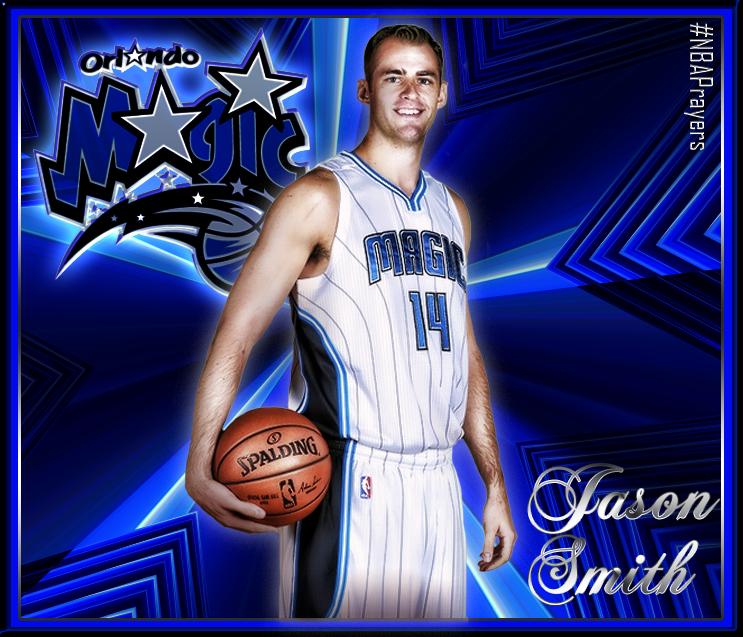NBA Player Edit Jason Smith Orlando magic, Nba players