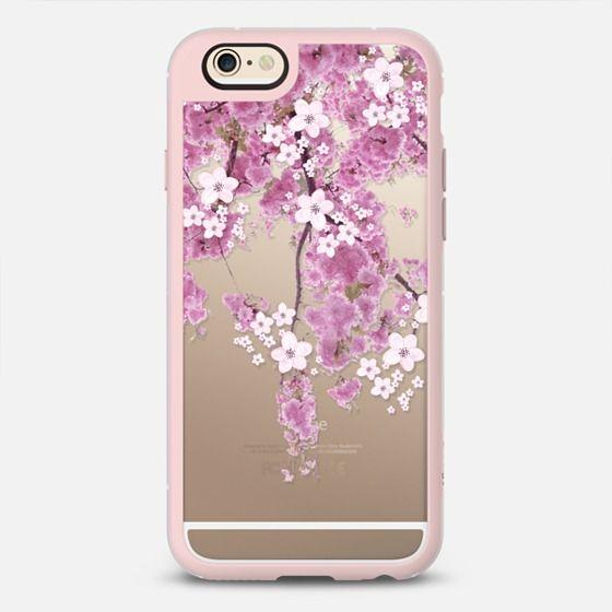 Cherry Spring Iphone 6 Plus Transparent Case New Standard Case