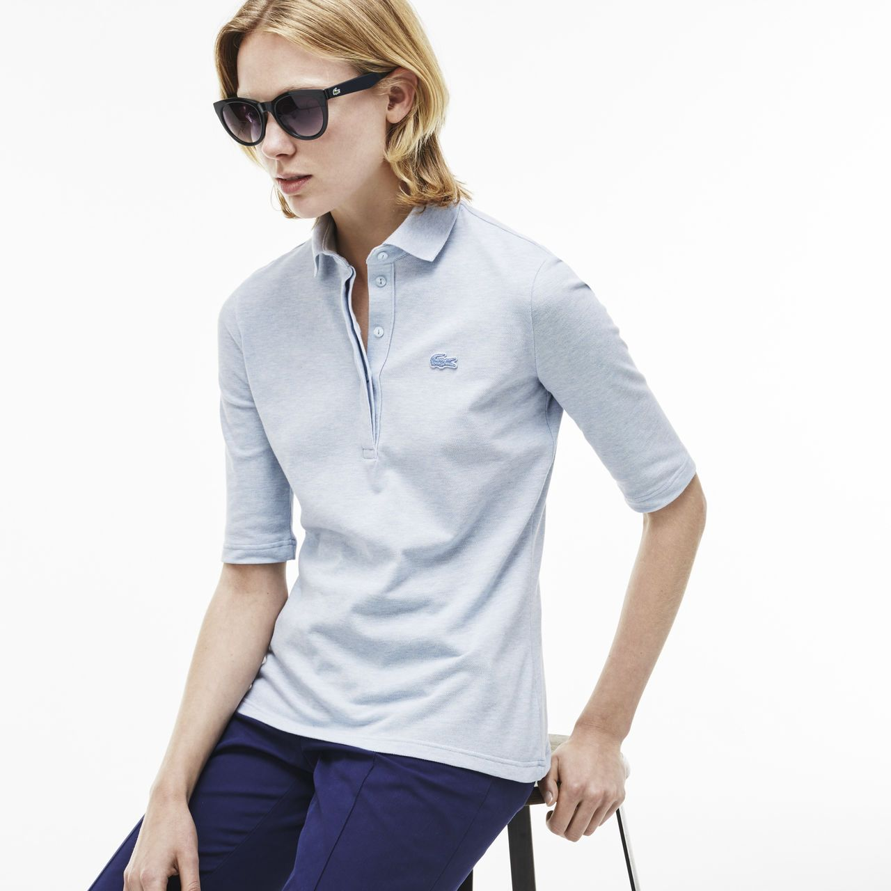 cd7f9fbaa6 The Chemise Lacoste polo in stretch cotton | LACOSTE | cloth in 2019 ...