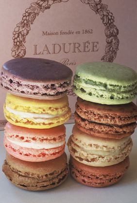 Laduree Macaroons.....not Paris, but today at work had my first Laduree Macaroons from NYC's  Madison ave shop.  Heavenly!