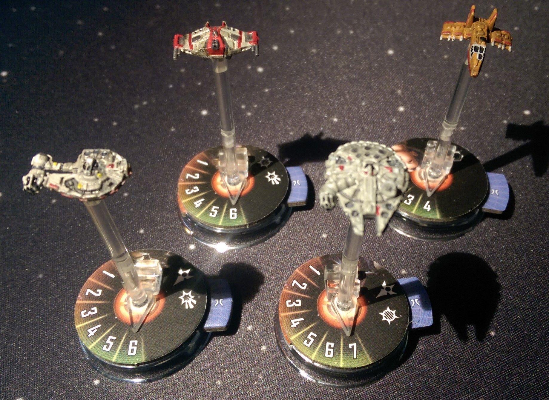 Resultado de imagen de star war armada granujas y villanos