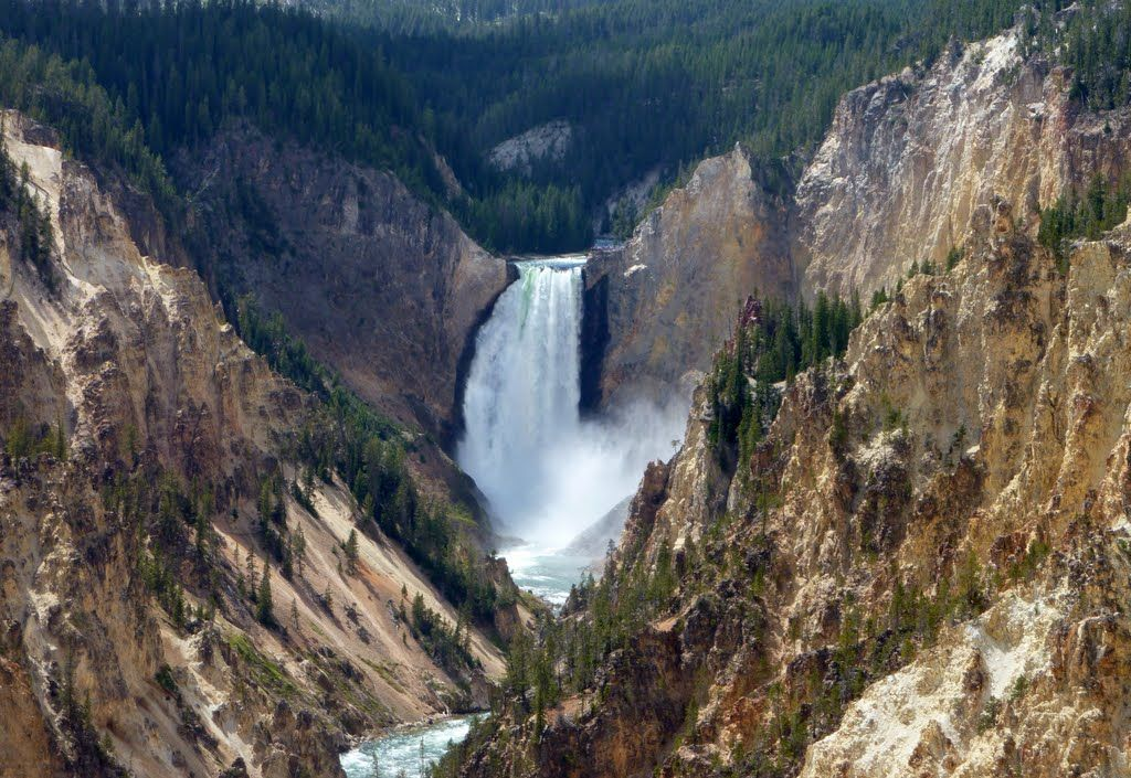 Inspiration Point (Yellowstone National Park