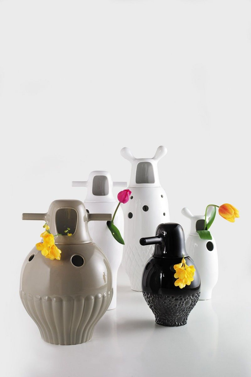 Showtime vases for bd jaime hayon pinterest porcelain contemporary porcelain vases by jaime hayon interesting modern contemporary porcelain vases are rare finds as soon as we saw these porcelain vases by jaime floridaeventfo Image collections