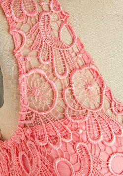 Sitting Pretty in Pink Dress, #ModCloth
