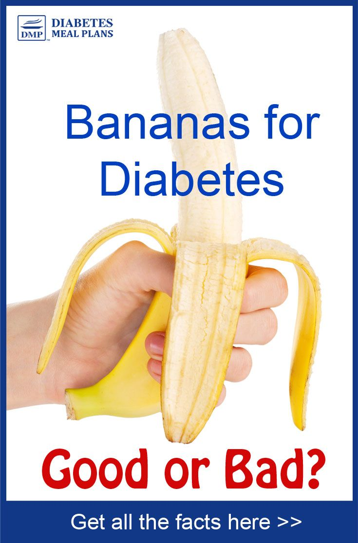 diabetes bananas