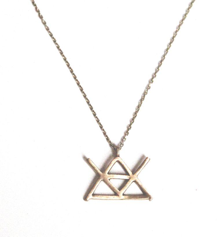 Alchemy Symbol For Fire Alchemynecklacefirebrassg Lady J