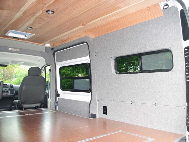 Dodge Pro Master Van Conversion Windows We Look Forward To