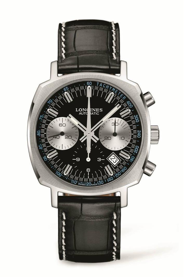 TimeZone   Industry News » N E W M o d e l - Longines Heritage 1973  Chronograph 059d46f5983