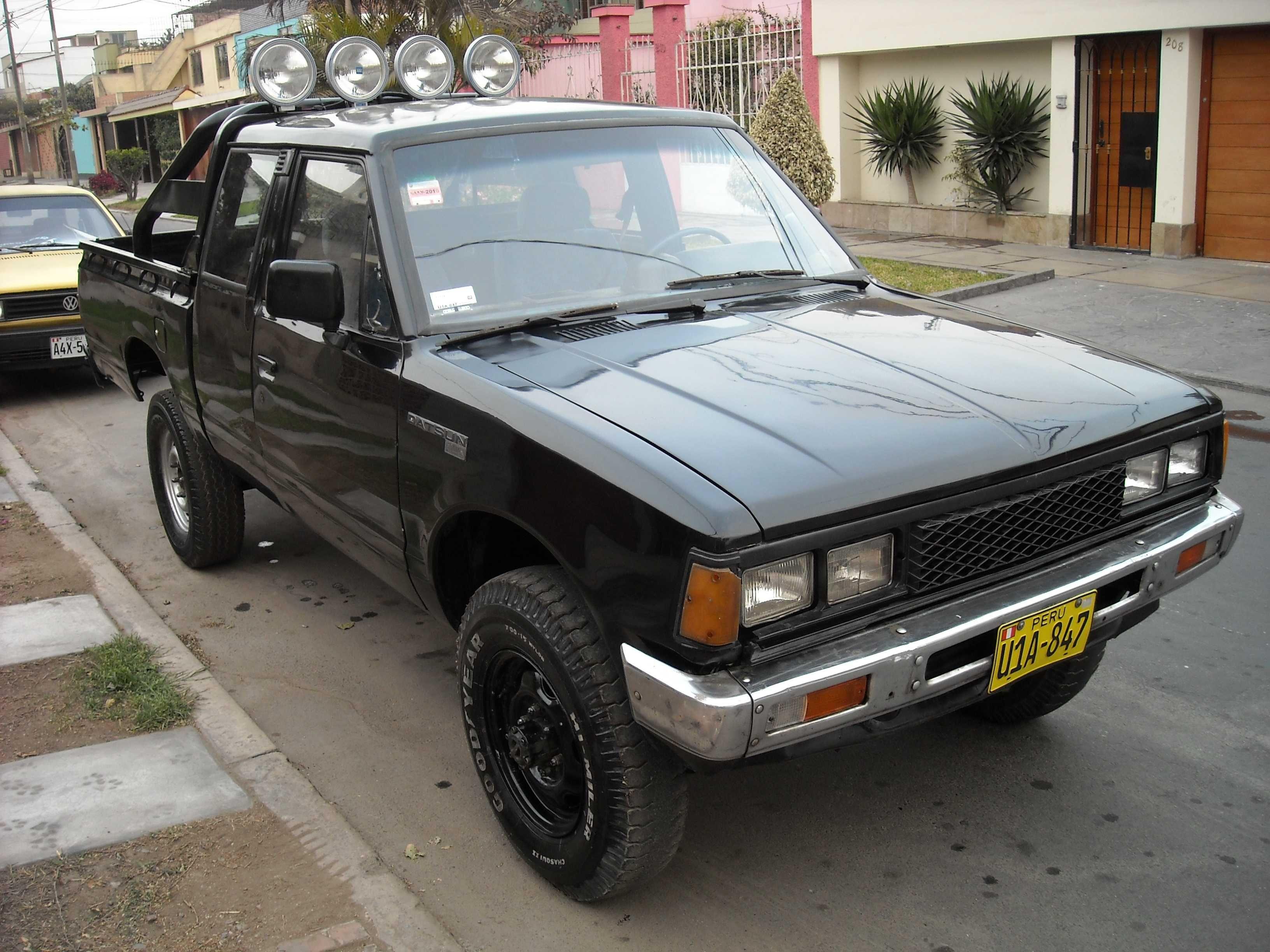 Nissan Datsun 84 pickup 4X4-dscn7067r.jpg | Nissan 720 Trucks ...