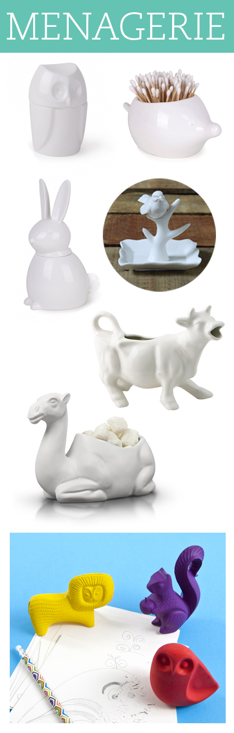A few things we're loving at GiveSimple.com #menagerie