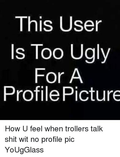 No Profile Picture Funny : profile, picture, funny, Funny