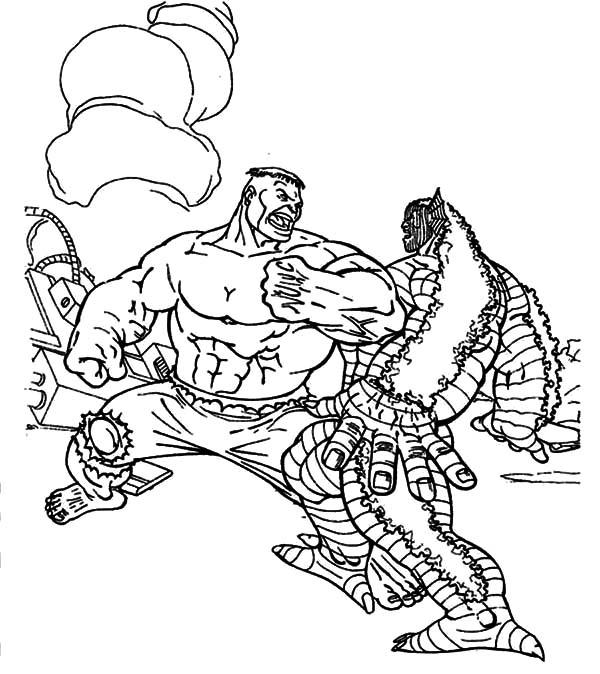 Godzilla Versus Hulk Coloring Pages Color Luna Hulk Coloring Pages Coloring Pages Godzilla