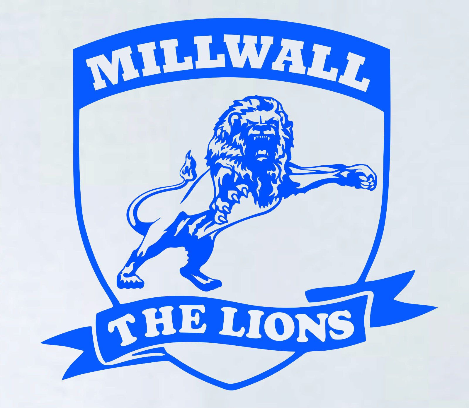 MILLWALL FC DECAL STICKER