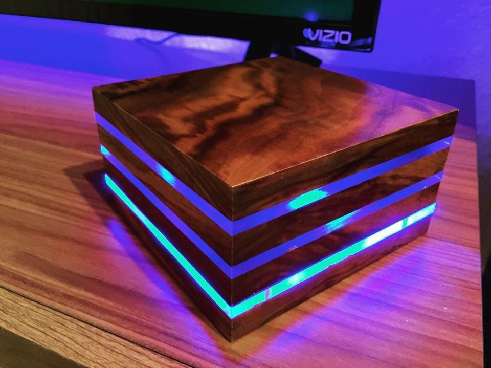 This Weekend's Project. Made A Walnut Led Lamp Using A Multicolor ... This Weekend's Project. Made A Walnut Led Lamp Using A Multicolor ... Woodworking reddit woodworking