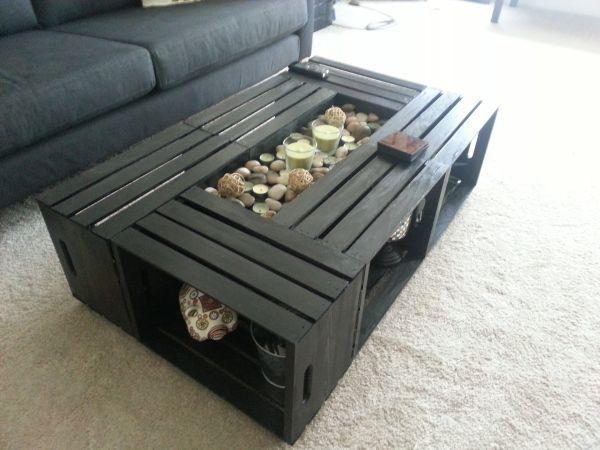 Kadir In Atolyesi Ozel Tasarim Ic Ve Dis Mekan Urunleri Wood Crate Coffee Table Crate Coffee Table Crate Coffee