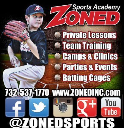 Zoned Sports Academy Bridgewater Nj Sports Softball Training Team Training