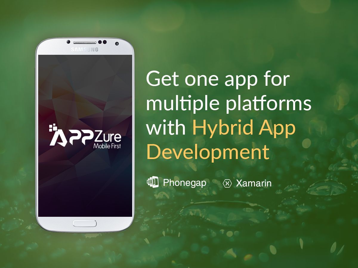 Get one app for multiple platform with hybrid and python