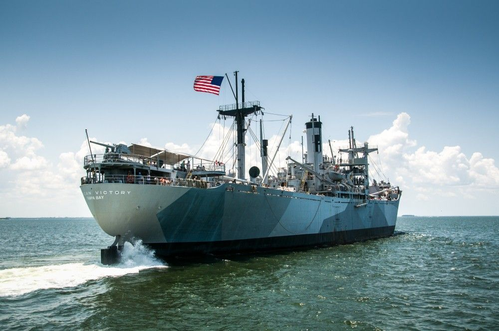 American Victory Ship is one of only 4 fully-operational WWII ships in the United States located in Tampa, FL.