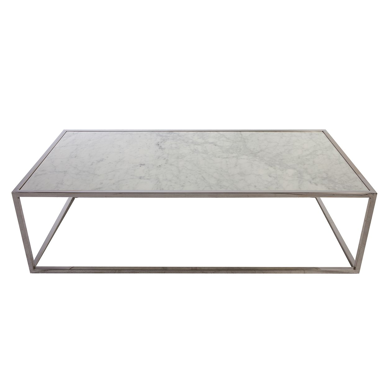 The Tynd Marble Coffee Tableu0027s Long And Slender Design Is Topped With A  Carrara Style, Solid Marble Table Top. Each Marble Slab Is Unique, And No  Two Are ...