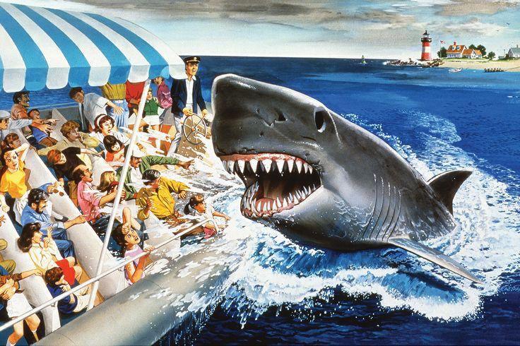 Jaws concept art theme park animal kingdom park