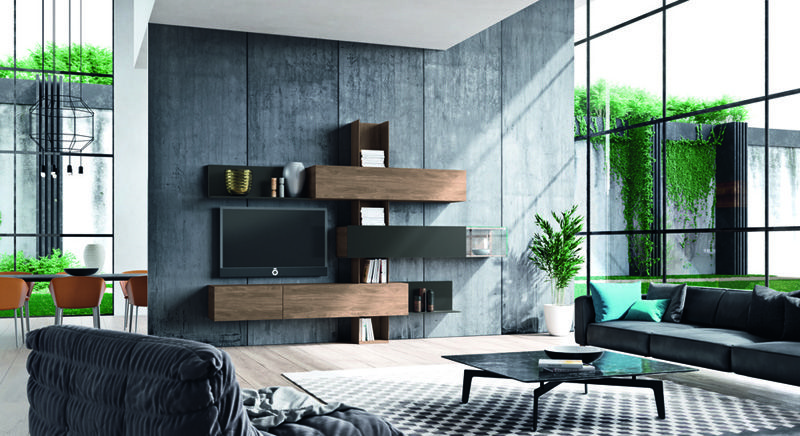 Hülsta kast Madera, zelf samen te stellen Verkrijgbaar bij - hülsta möbel wohnzimmer