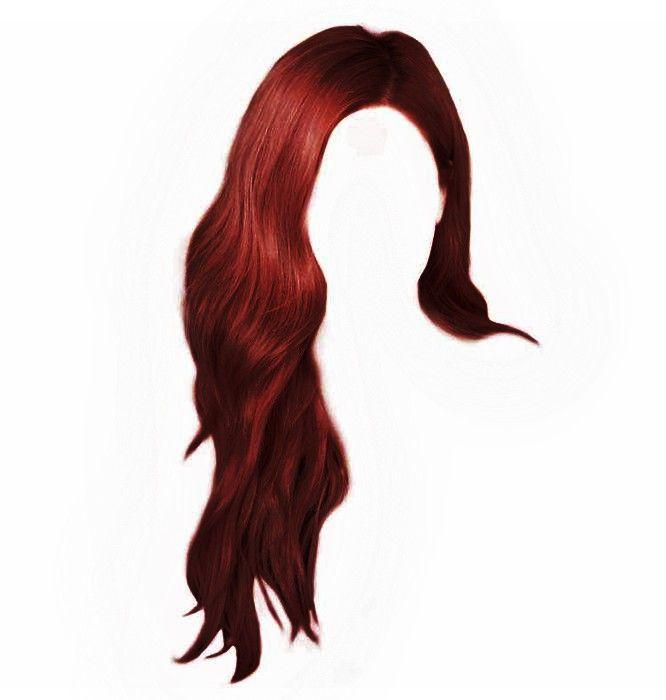 Red Hair Png Hair Png Chibi Hair Anime Hair