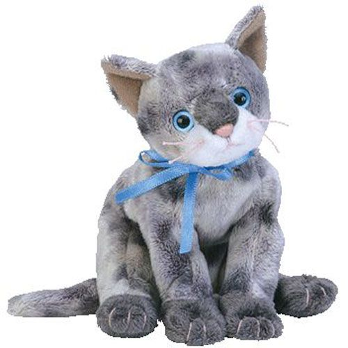 179c7f08728 TY Beanie Baby - FRISCO the Gray Cat (7 inch)