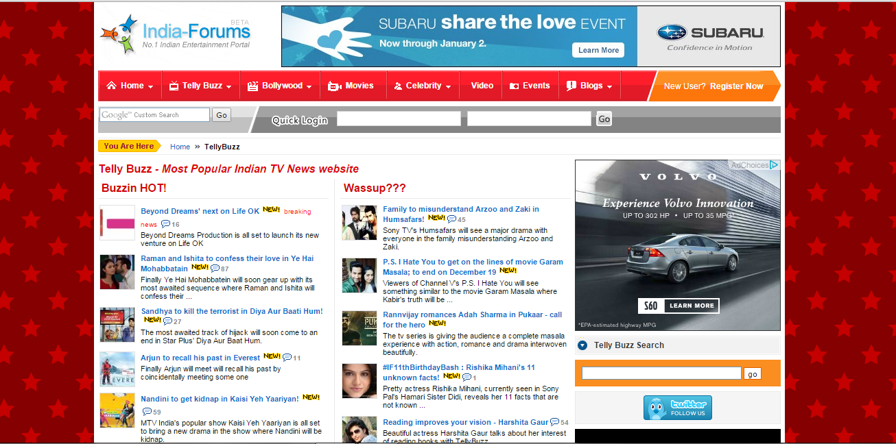 Indian TV serials | News | forum - indiaforums com/tellybuzz
