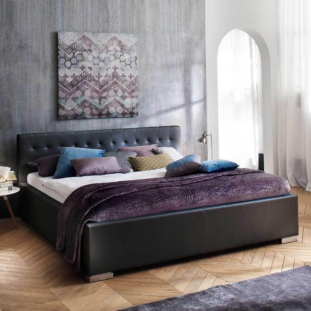 Doppelbett Aus Kunstleder Bett Doppelbett Und Schlafzimmer