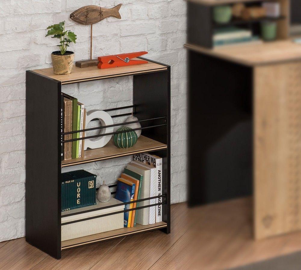 new york boekenkast kast zwart boekenkast zwart meisjeskast jongenskast