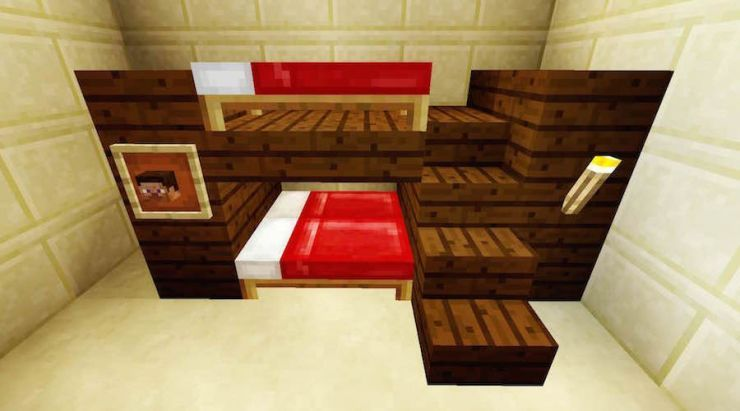 Minecraft Bunkbed Click For A Tutorial Minecraft Furniture Minecraft Bedroom Minecraft Decorations,Best Paint For Bathrooms Walls